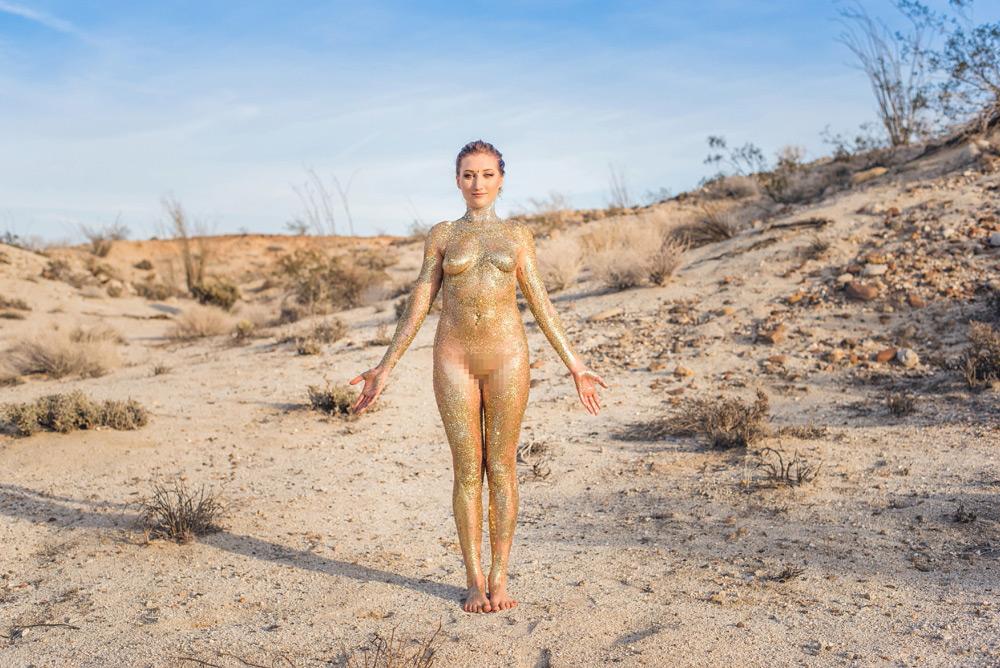 desert glitter yoga portraits 01